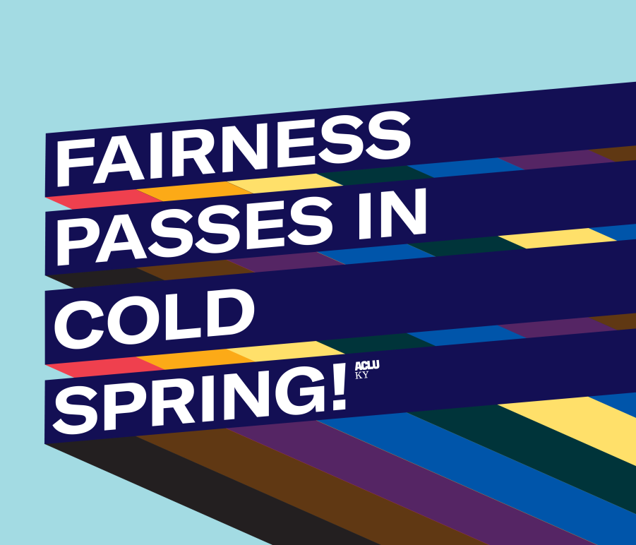 Fairness Passes in Cold Spring