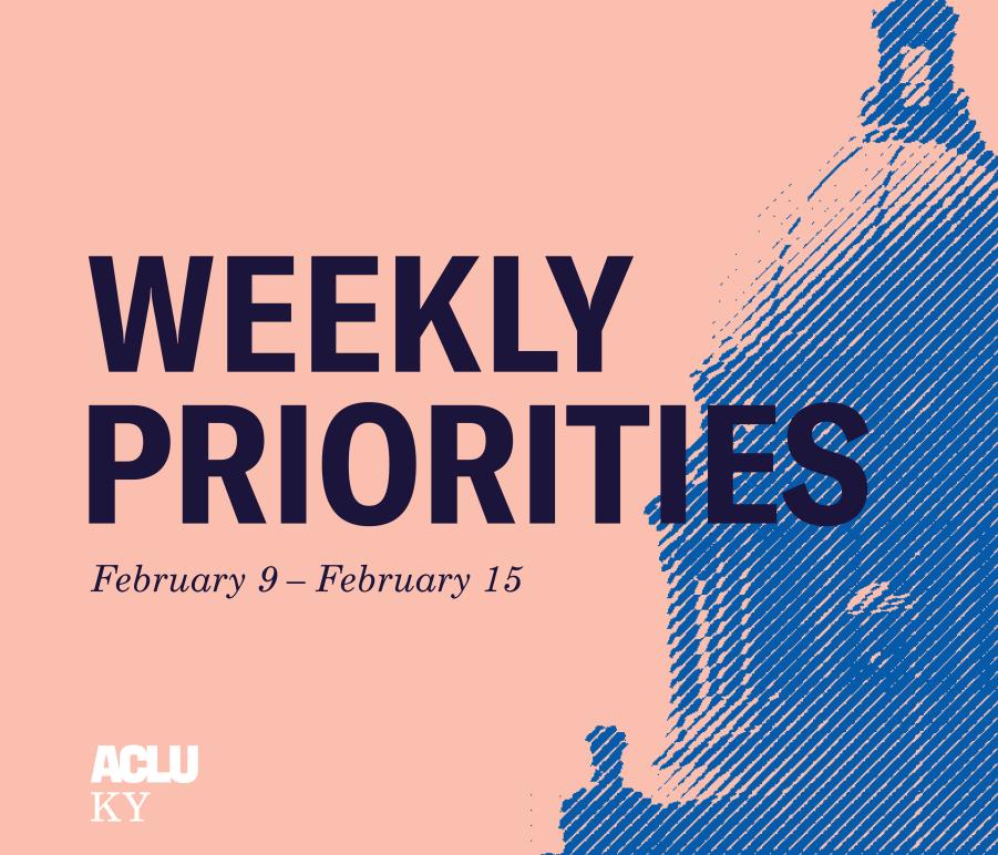 Weekly Priorities Feb 9 to Feb 15