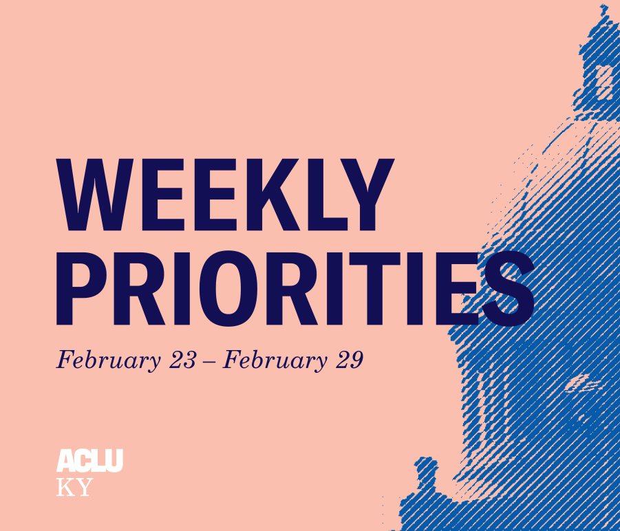 Weekly Priorities Feb 23 to 29