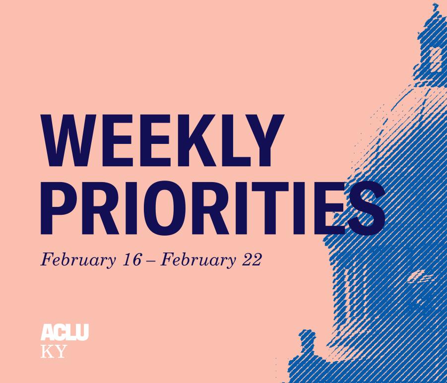Weekly Priorities New Update Feb 16 to 22