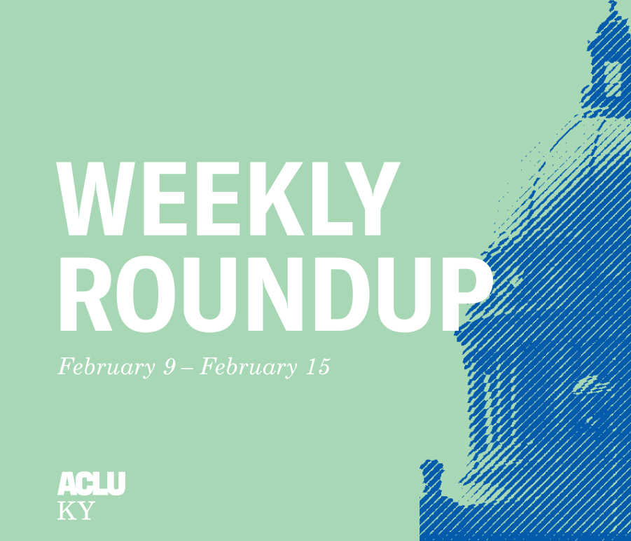 Weekly Roundup Feb 9 to 15