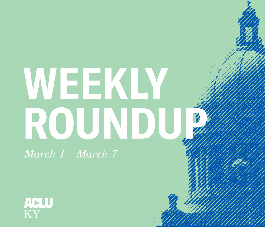 Weekly Roundup March 1 to 7