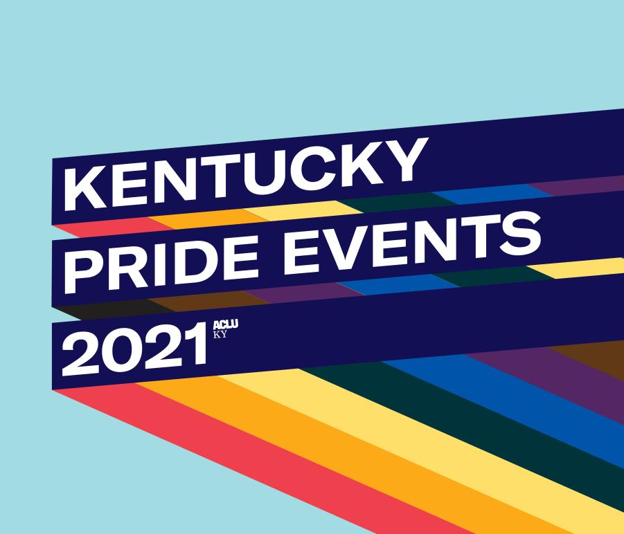 Kentucky Pride Events Website Event Graphic