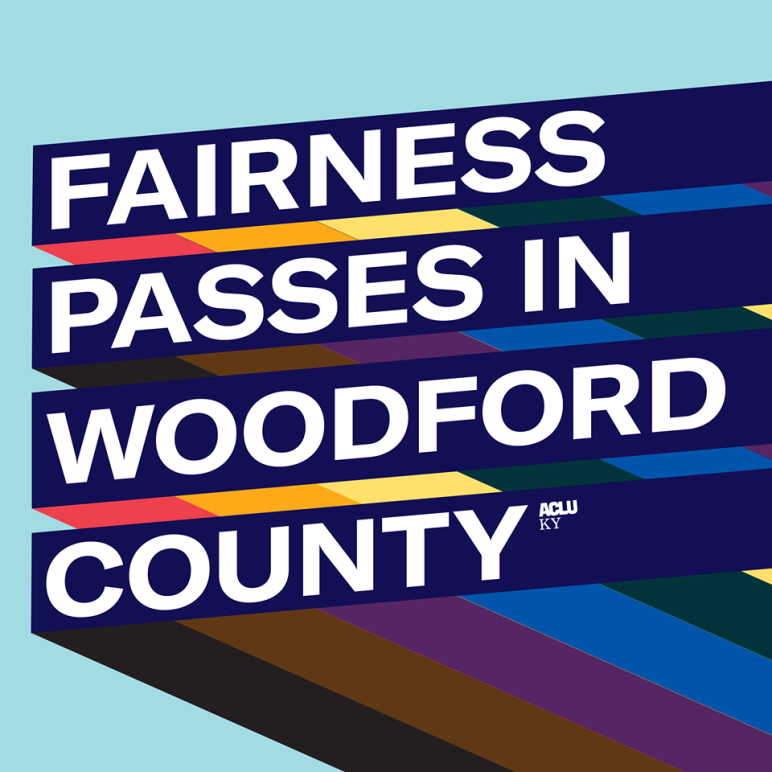 Fairness Passes in Woodford County