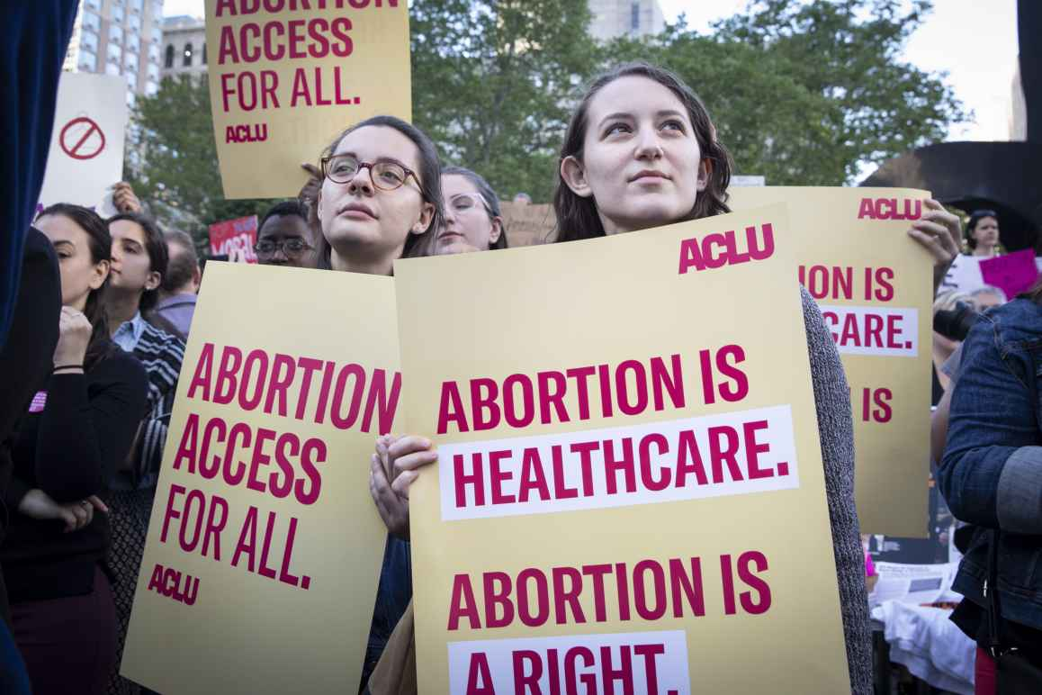 Protesters for Abortion Rights