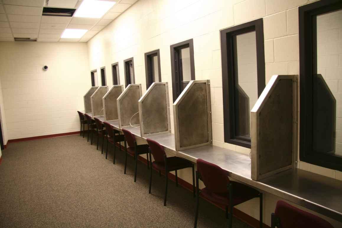Prison Visitation Room
