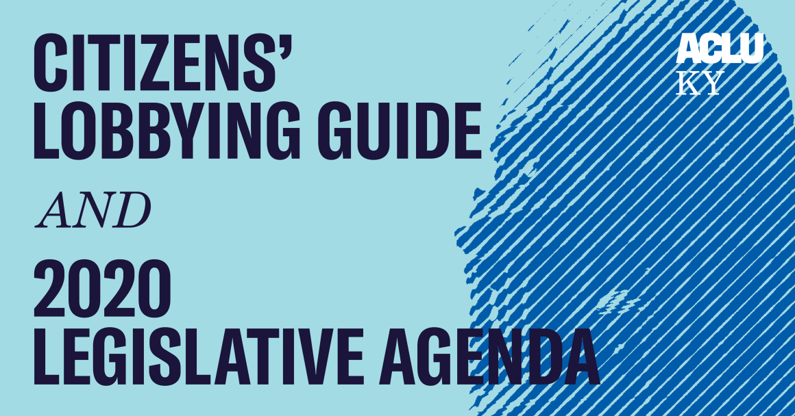 Lobbying Guide and 2020 Legislative Agenda