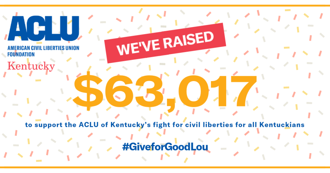 63,017 dollars raised for Give for Good Louisville