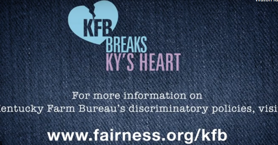 graphic reading KY Farm Bureau Breaks Kentucky's Heart