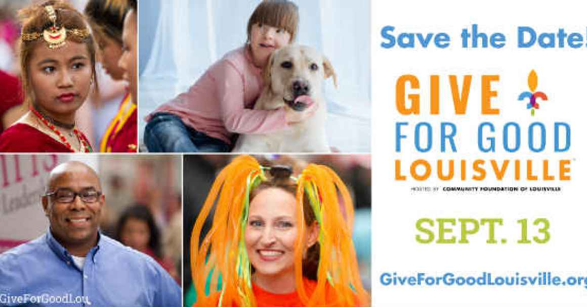 Save the Date Give for Good Louisville Sept. 13