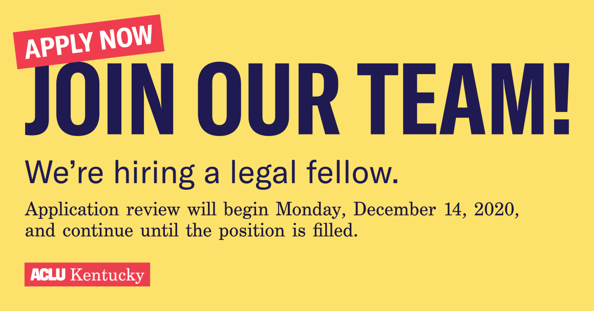 We're Hiring A Legal Fellow Link Share